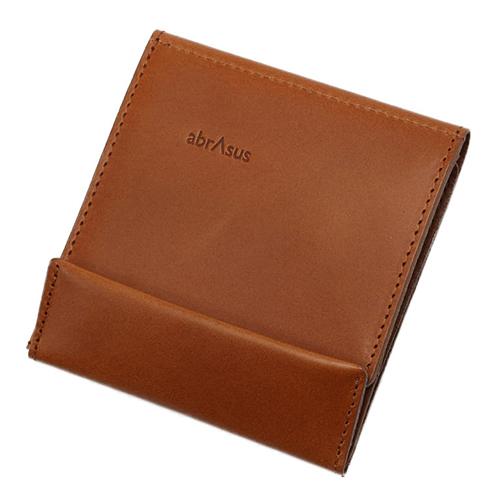 アブラサス薄い財布ブッテーロレザー