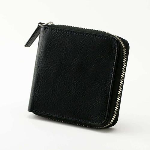 ビジネスレザーファクトリー_ラウンド二つ折り財布